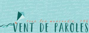 Vent de paroles - soirée lectures @ Parc de l'Église de Trois-Pistoles