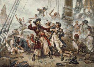Banquet des corsaires @ Cour du Caveau des Trois-Pistoles