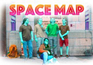 Slam & Jazz: Space Map @ Cour du Caveau des Trois-Pistoles